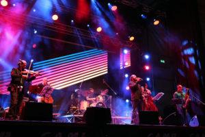 07-05-16 Rimini - Inaugurazione Fiera Rimini Inside - fiera della musica - il concerto dei quinto rigo e Roberto Gatto - Photo Petrangeli